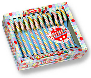 Smarties Candy Canes at SpanglerCandy.com