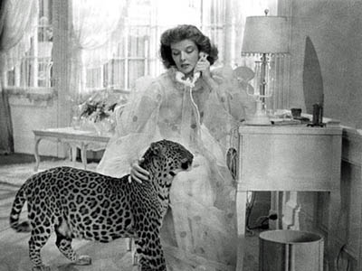 Katharine Hepburn in Bringing Up Baby