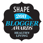 Shape Magazine - Best Blogger Awards 2011 - YIFY